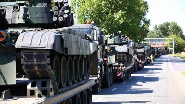 Вторжение России ещё не началось, а Польша уже потеряла два танка