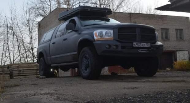 Dodge Ram 1500 2006 года: Добротный пикап с хорошим клиренсом и мощным мотором