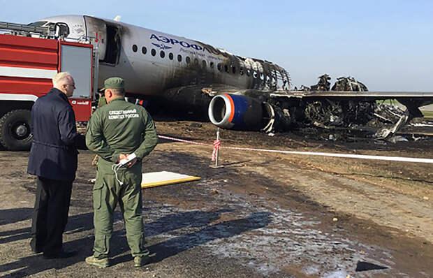 В СКР назвали главную причину смерти пассажиров SSJ-100 в Шереметьево