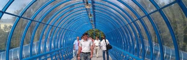 В Актау снова подняли вопрос о надземных переходах