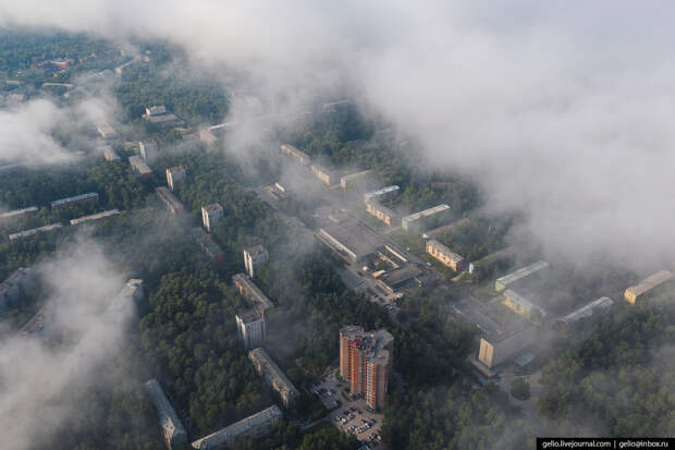 Новосибирский Академгородок – город учёных посреди сибирской тайги - 2 часть