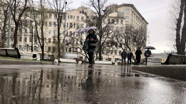 Петербуржцев предупредили о сильных дождях во второй половине мая