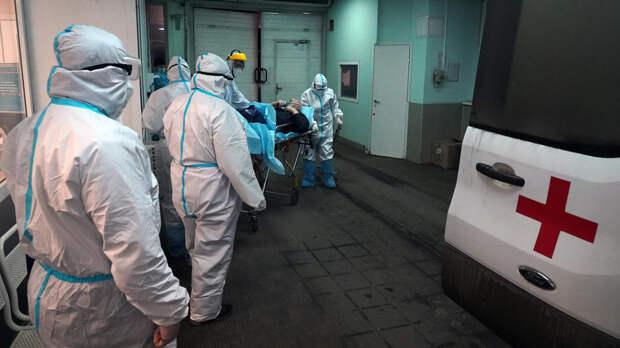 В России за сутки выявили 8380 новых случаев заболевания COVID-19