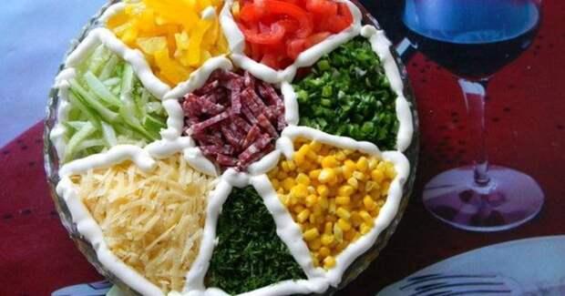 Праздничный салат Лето