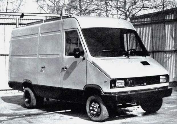 КиАЗ-3727 авто, автомир, автомобили, газель, грузовик, советские автомобили, фургон