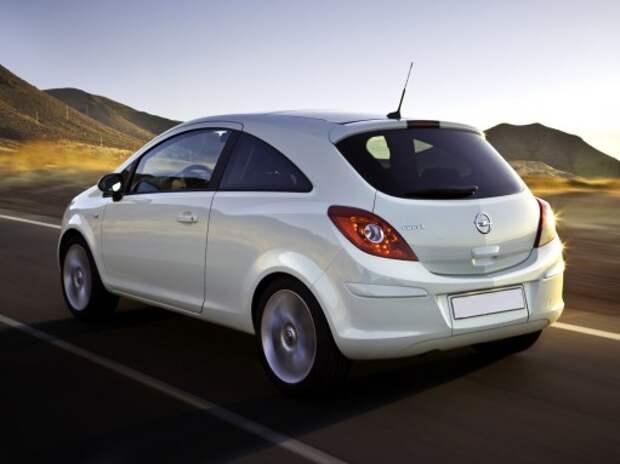 Opel отзывает автомобили Corsa в России