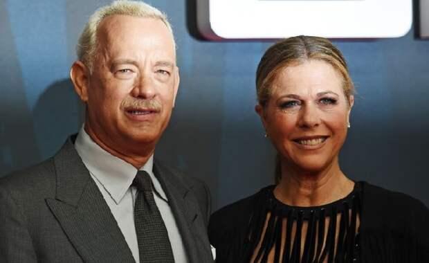 Том Хэнкс и Рита Уилсон 32 года вместе.