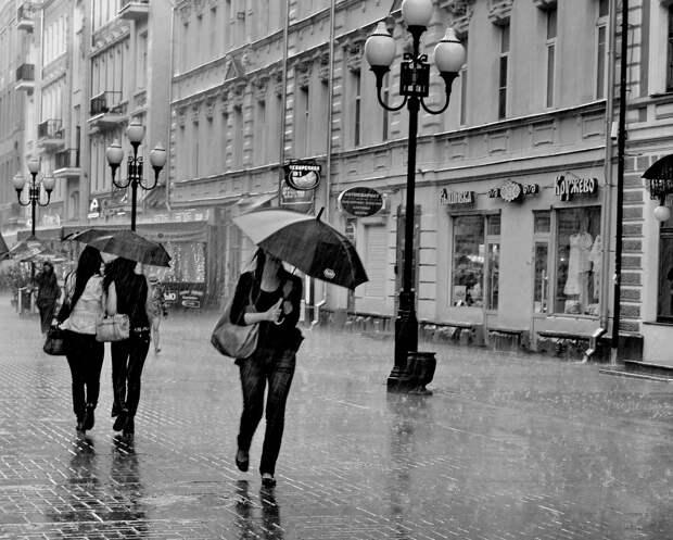 Грозы прогремят во вторник в Москве