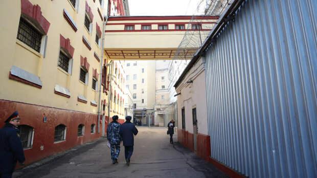 Заключенный свел счеты с жизнью в одиночной камере СИЗО в Москве