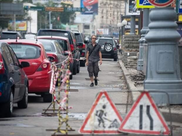В Москве задумались о переходе с асфальта на бетон