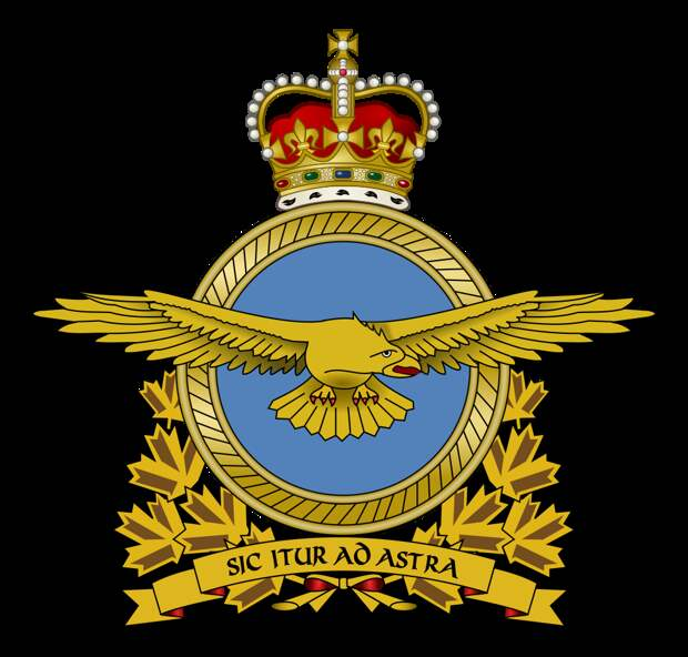 Royal Canadian Air Force Badge.svg