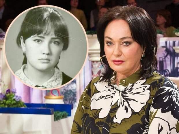 Лариса Гузеева в наши дни и в школьные годы   Фото: teleprogramma.pro