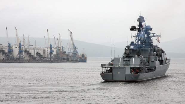 Отряд кораблей ТОФ завершил визит в Сингапур