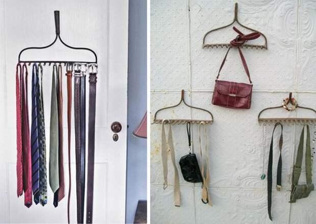 Полезные и стильные вещи из простых грабель