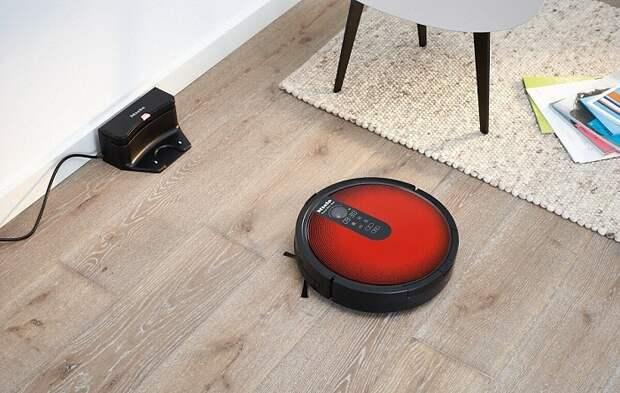 Робот-пылесос поможет поддерживать чистоту без вашего непосредственного участия. / Фото: Robroy.ru