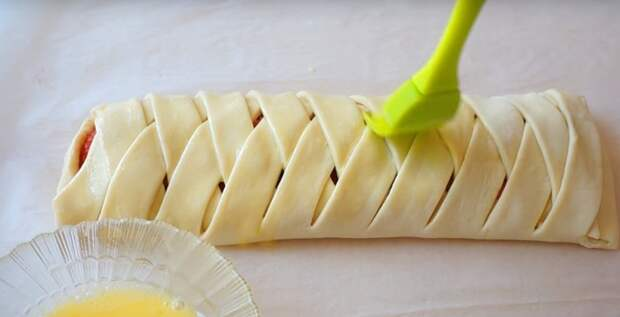 пирог с клубникой дрожжевое тесто
