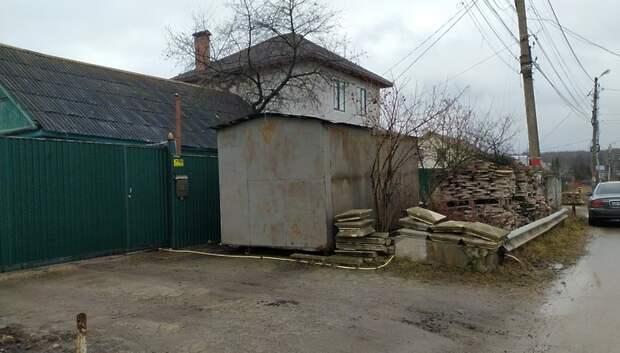 Жители микрорайона Климовск Подольска хранили стройматериалы возле домов
