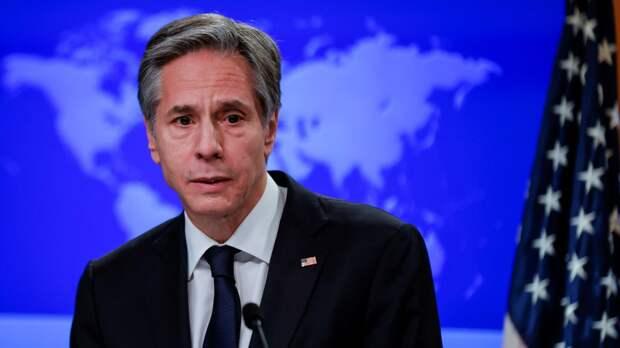 Блинкен и президент Афганистана провели переговоры
