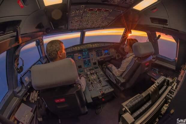 fromcockpit05 25 фотографий, сделанных пилотами из кабин самолетов