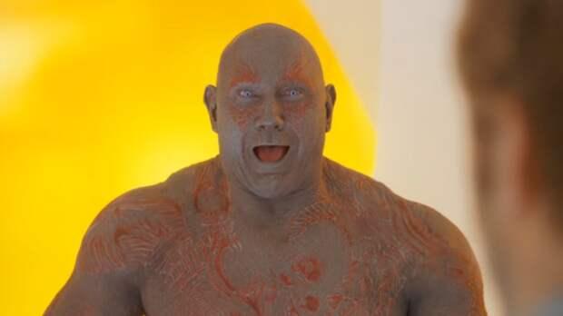 Дейв Батиста пожаловался на Марвел из-за своего персонажа
