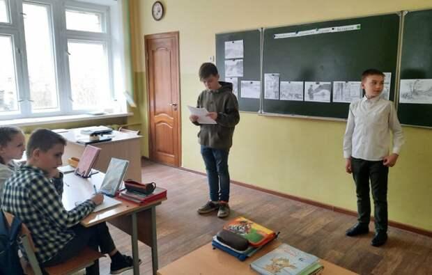 в рамках областного проекта ´Мая_зямля_Прыдняпроуе´ среди учащихся V-VII классов прошла литературная встреча ´Чернобыльские ш...