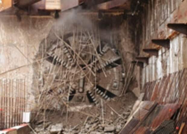 Щит «Виктория» проложил тоннель БКЛ под станцией метро «Печатники»