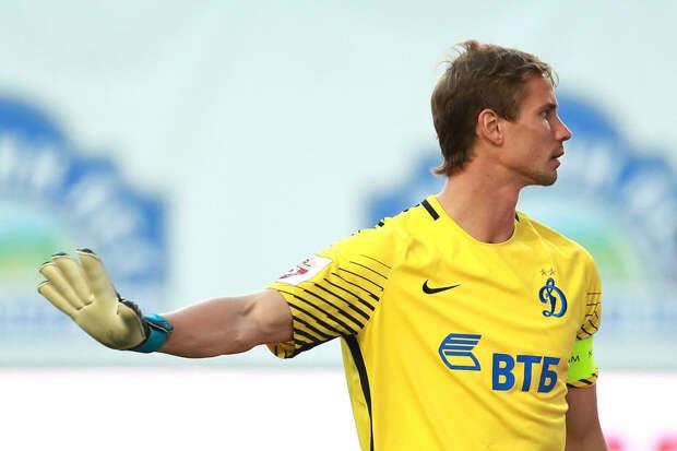 Пресс-служба «Динамо» объяснила отсутствие Шунина в матче с ЦСКА