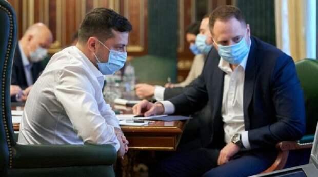 Глава Офиса президента Украины Андрей Ермак заболел коронавирусом
