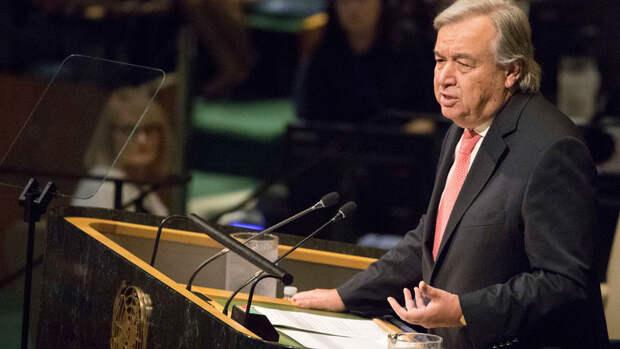 """Генсек ООН назвал """"совершенно ужасными"""" столкновения Израиля и сектора Газа"""