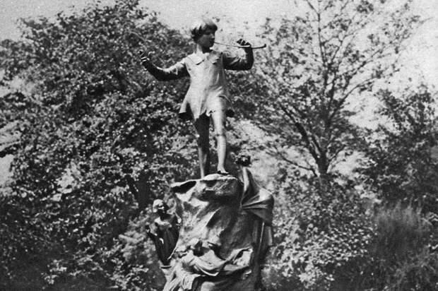 Та самая статуя.