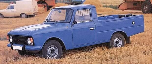 Уникальные и обычные автомобили пикап родом из СССР