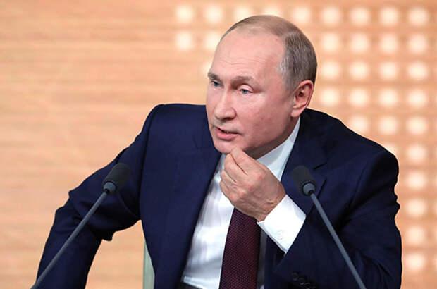 Путин: на Украине происходит зачистка политического поля
