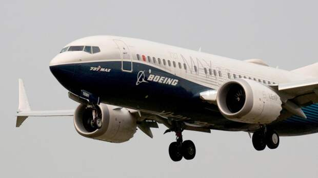 Самолет Boeing 737 MAX 7