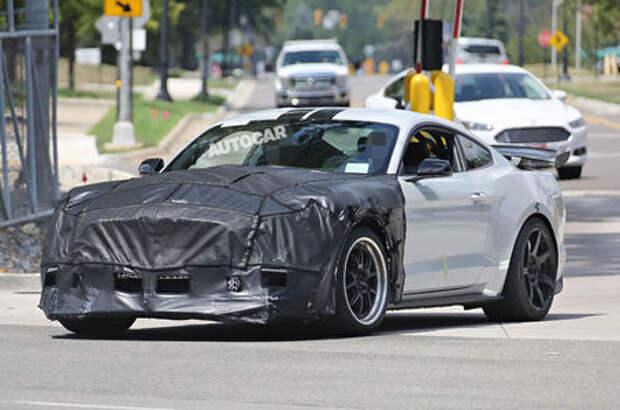 Охота на тигра: сверхмощный Ford Mustang устранит конкурентов