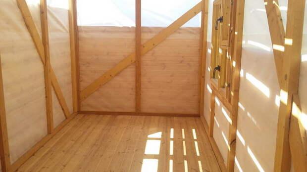 Строительство деревянного летнего гостевого домика своими руками