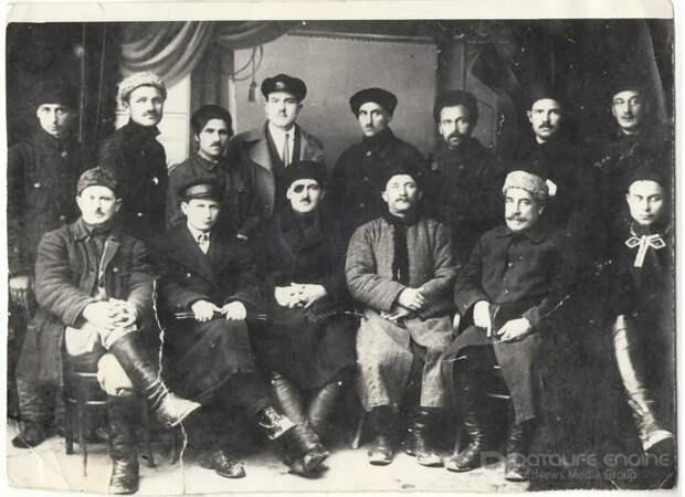 ЧЛЕНЫ ШАПСУГСКОГО РАЙОННОГО ИСПОЛНИТЕЛЬНОГО КОМИТЕТА 1925 Г.