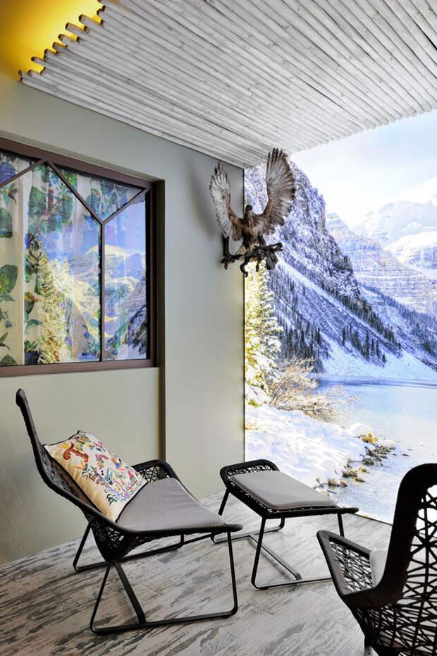Несерьезный взгляд на дизайн альпийского шале