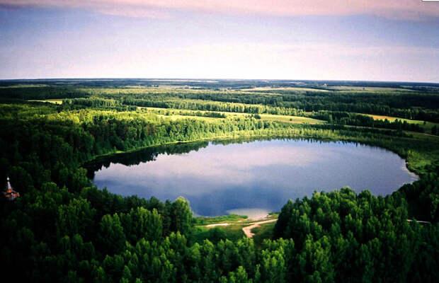 Озеро Святлояр в Нижегородской области