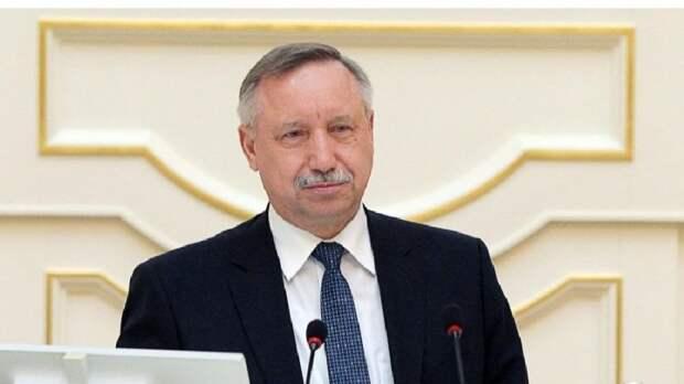 Беглов рассказал о темпах строительства жилых объектов в Санкт-Петербурге