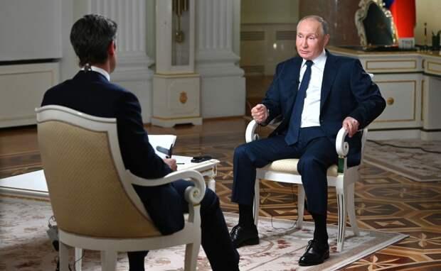 Провокационное интервью: западные СМИ о беседе Путина с журналистом NBC