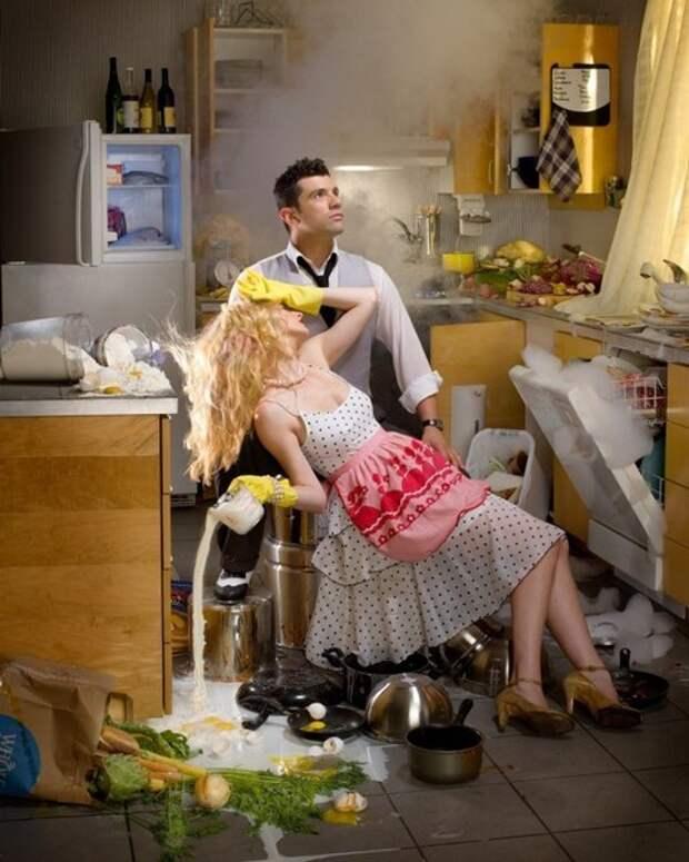 Как научить мужа борщ варить