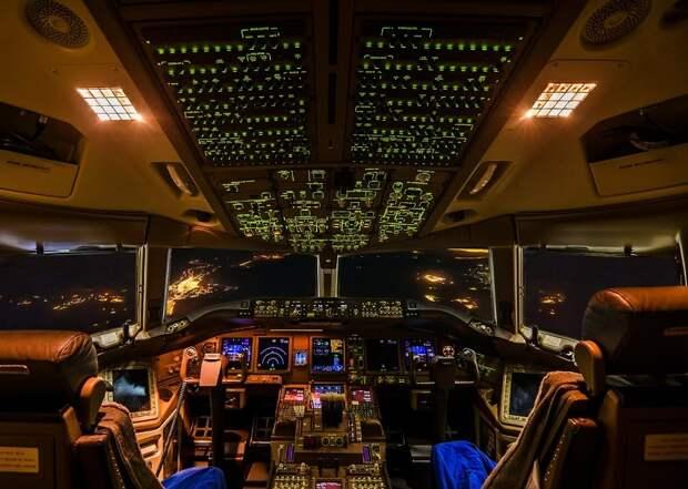 fromcockpit20 25 фотографий, сделанных пилотами из кабин самолетов
