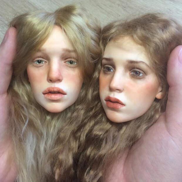 Российский скульптор создает сверх реалистичные куклы, больше похожие на живых людей