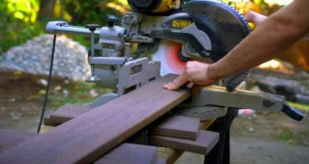 Как сделать садовую деревянную лестницу