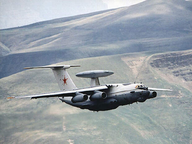 Российский самолет дальнего обнаружения А-50 передислоцирован в Беларусь