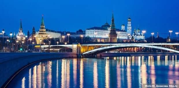 На Пушкинской площади в центре Москвы. Фото: М. Денисов mos.ru
