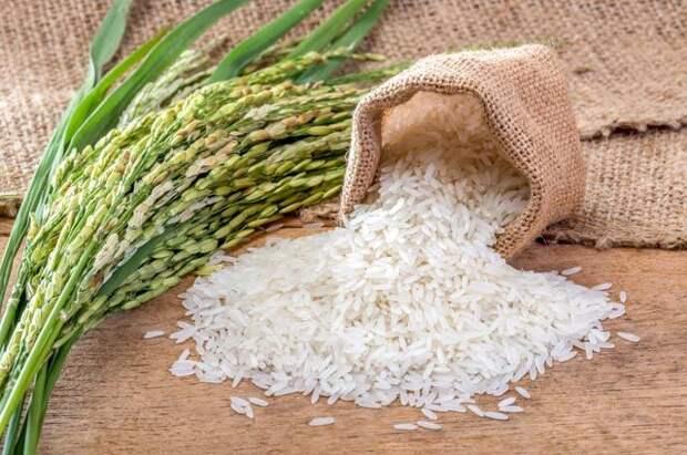 Рассыпчатый рис.
