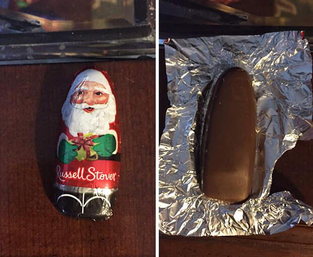 """Дед Мороз """"Сделай сам"""" еда, кругом обман, продукты"""