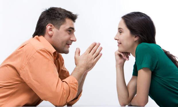 мужчина встречается с девушкой