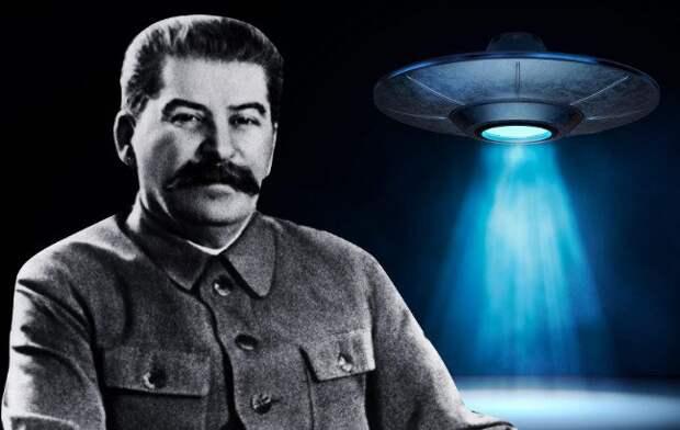 Как Сталина заподозрили в организации атак инопланетян на США